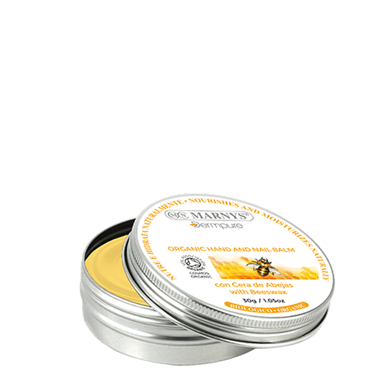 DERM004 - Organic Hand and Nail Balm with Beeswax