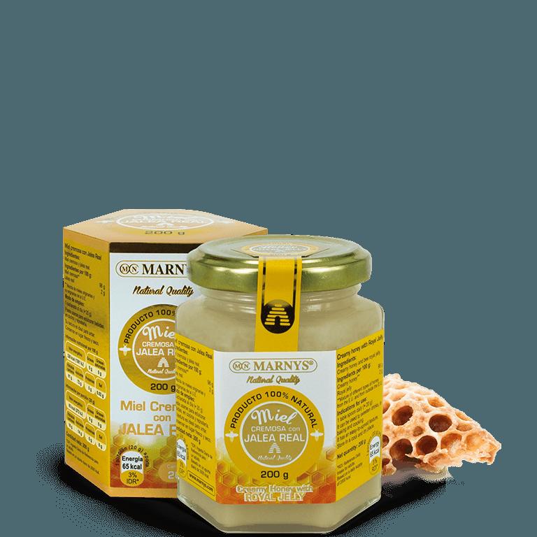 MN648 - Creamy honey with Royal Jelly
