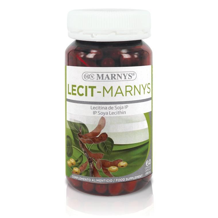 MN411 Lecit-Marnys Soy Lecithin 60 capsules x 1200 mg