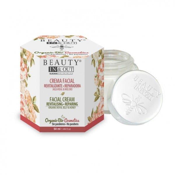 INOUT004 Revitalising Repairing Facial Cream Beauty In&Out